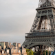 Closeup O The Eiffel Tower In Paris France 5 - VideoHive Item for Sale