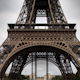 Closeup O The Eiffel Tower In Paris France 7 - VideoHive Item for Sale