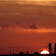 Sunset Shilouette Tourists Pier Mexico 3 - VideoHive Item for Sale
