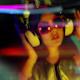 Beautiful Girl Dancing Vintage Headhones 1 - VideoHive Item for Sale
