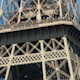 Closeup Of The Eiffel Tower In Paris France 2 - VideoHive Item for Sale