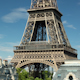 Closeup O The Eiffel Tower In Paris France 18 - VideoHive Item for Sale