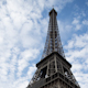 Eiffel Tower In Paris France, Looking Up - VideoHive Item for Sale