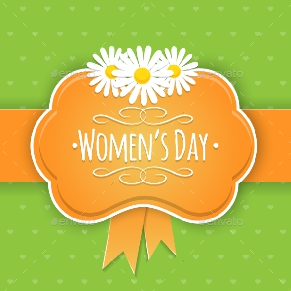 GraphicRiver Eight 8 of March Women s Day Background 10230188