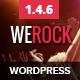 WeRock Multipurpose Music & Event Wordpress Theme - ThemeForest Item for Sale