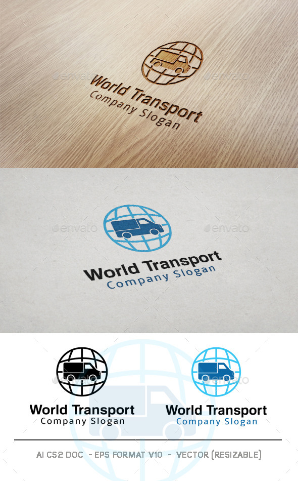 World Transport Logo