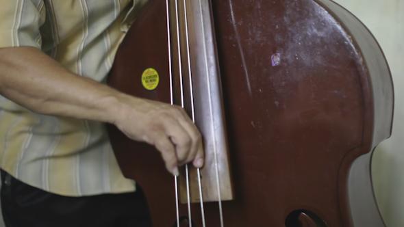 Cuban Music Band Playing Havana Cuba 6