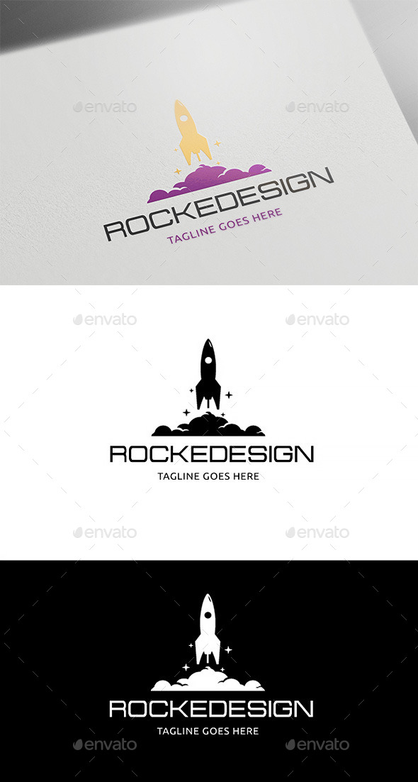 GraphicRiver Rocket Design 10231643