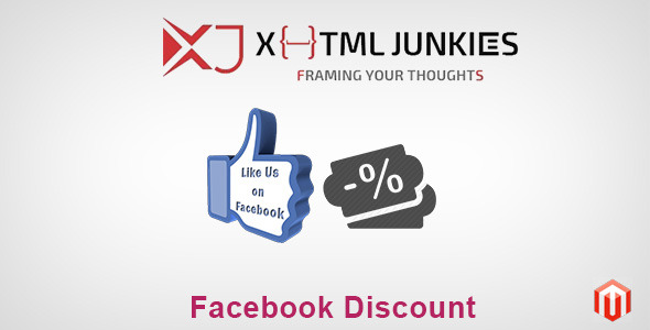 Facebook Discount Extension   - CodeCanyon Item for Sale