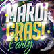 Mardi Grass Party - GraphicRiver Item for Sale