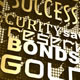 Gold Investment Sculptured Words - VideoHive Item for Sale