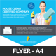 House Cleaning Services Flyer Template - GraphicRiver Item for Sale