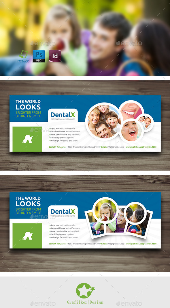 GraphicRiver Dentist Cover Templates 10232210
