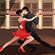 Couple Dancing Tango - GraphicRiver Item for Sale