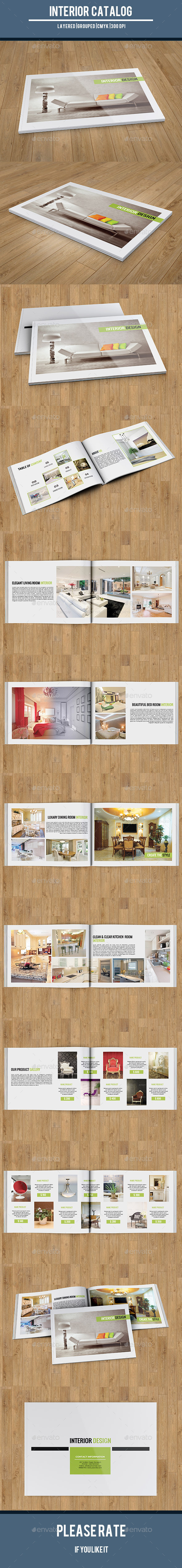 Interior Catalog Template-V148