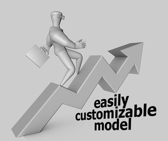 Presentation Man - 3DOcean Item for Sale