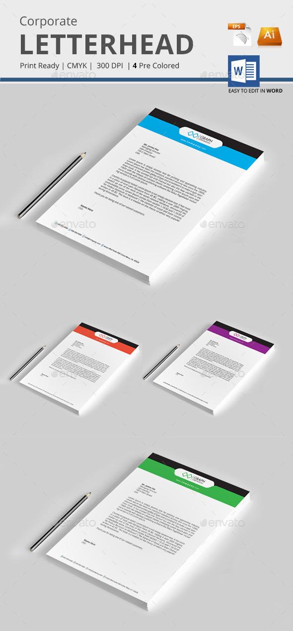 GraphicRiver Letterhead 10234307