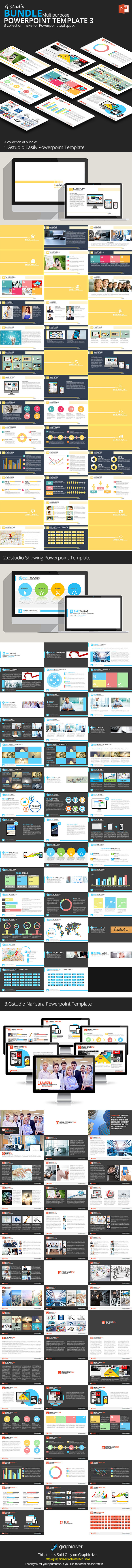 GraphicRiver Gstudio Powerpoint Bundle 3 10175153