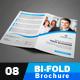 Corporate Bi-fold Brochure 08 - GraphicRiver Item for Sale