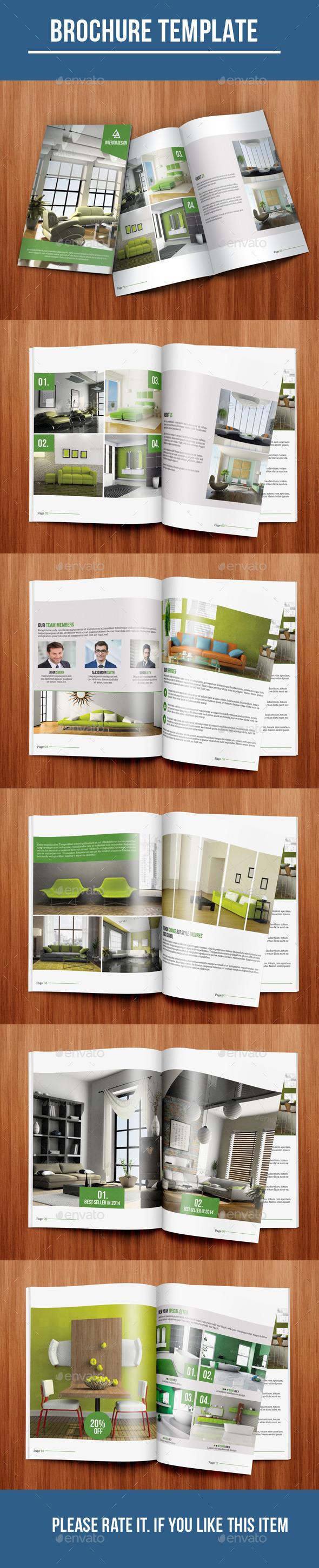 GraphicRiver Interior Bi-Fold Brochure 10235393