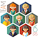 Flat Office Team - GraphicRiver Item for Sale