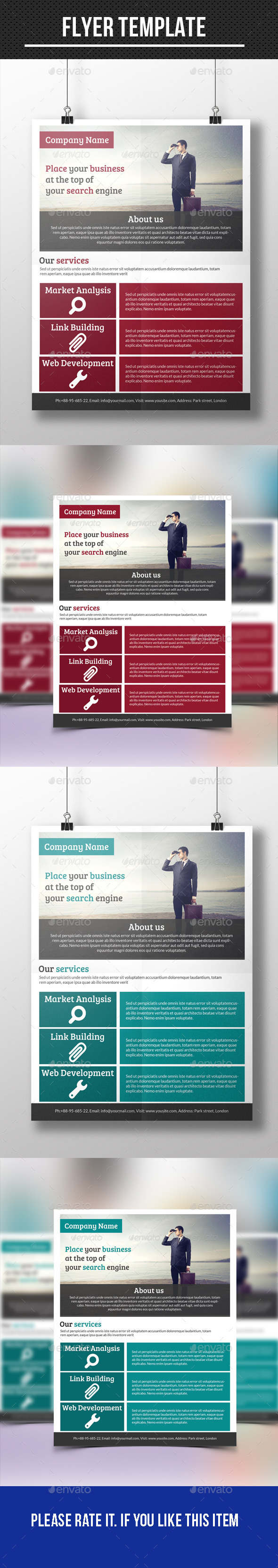 GraphicRiver Business Flyer 10235955