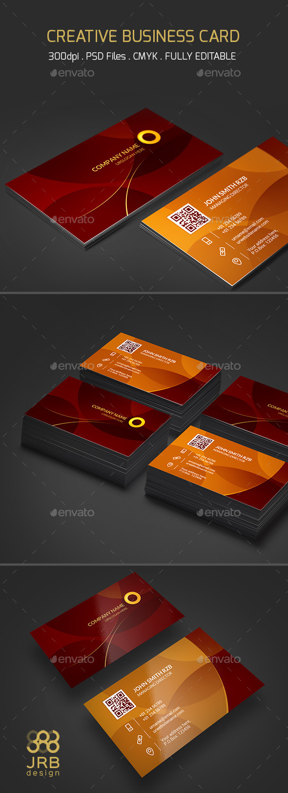 GraphicRiver Creative Business Card 10236155