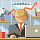 Flat Office Team Director - GraphicRiver Item for Sale