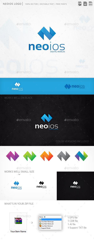 GraphicRiver Neoios Logo 10236277