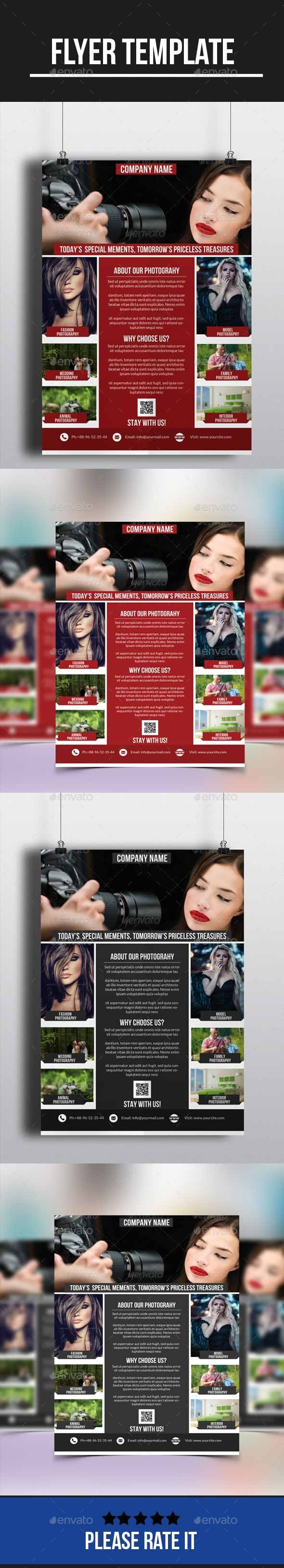 GraphicRiver Photography Flyer 10236302