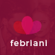 Febriani - Valentine Email Template - GraphicRiver Item for Sale