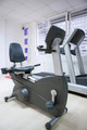 elliptical cross trainer, stationary bicycle