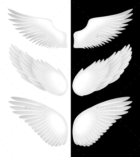GraphicRiver Wings of Angels 10236504