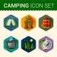 Camping Symbols - GraphicRiver Item for Sale