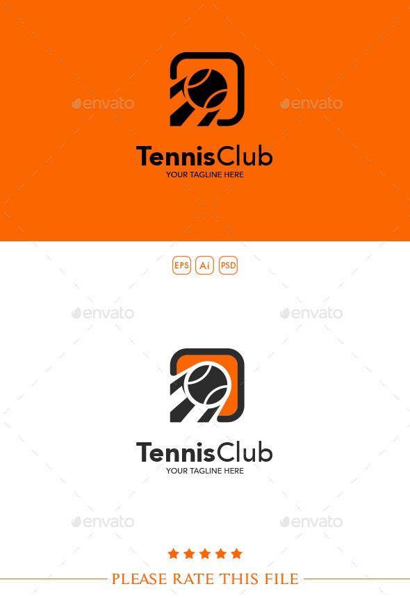 GraphicRiver Tennis Logo 10236747