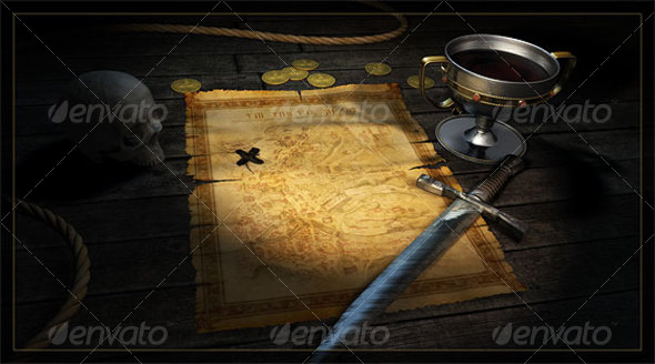 GraphicRiver Treasure Map 42770