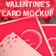 Valentine's card Mockup - GraphicRiver Item for Sale