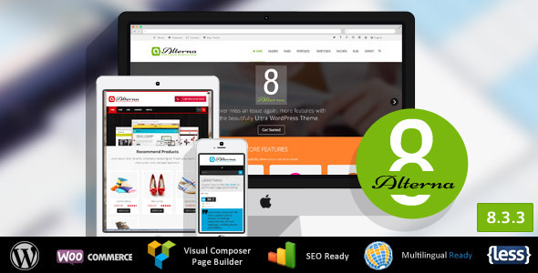 Alterna - Ultra Multi-Purpose WordPress Theme - Corporate WordPress
