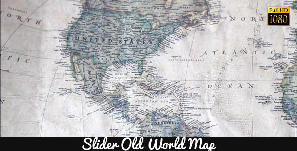Old World Map 17