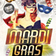 Mardi Gras Flyer Party - GraphicRiver Item for Sale
