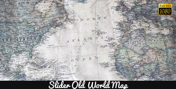 Old World Map 19