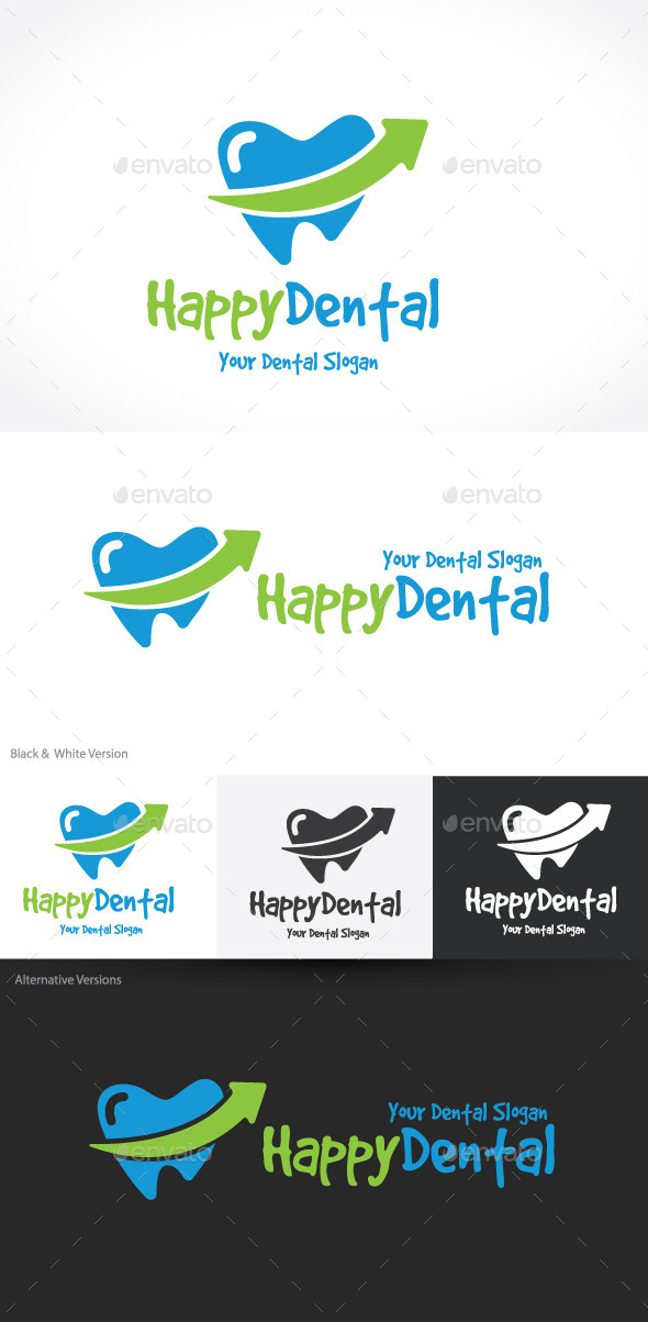 GraphicRiver Happy Dental 10237557