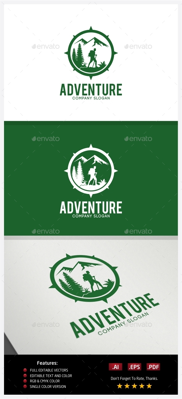 GraphicRiver Adventure Logo 10237586