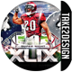 XLIX Football Flyer Template - GraphicRiver Item for Sale