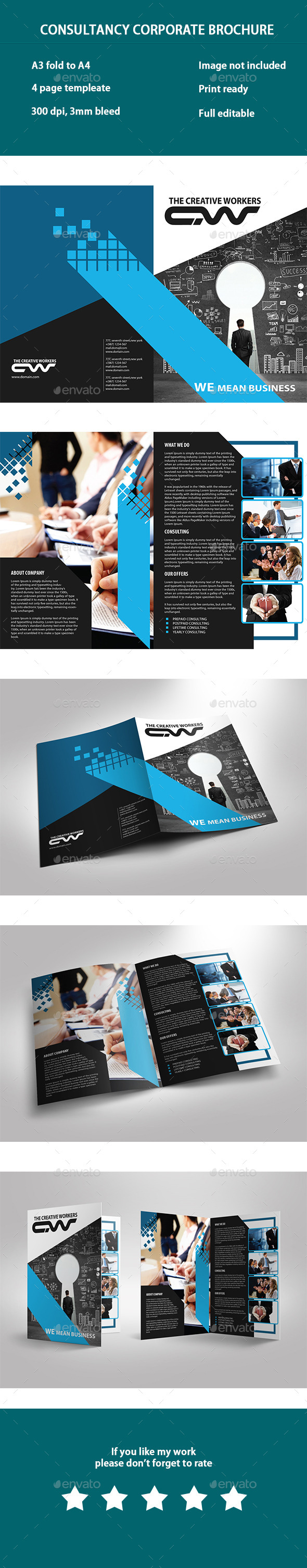 GraphicRiver Consultancy Business Brochure 10237759