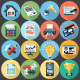Flat Icons for Web and Application  Set 4 - GraphicRiver Item for Sale