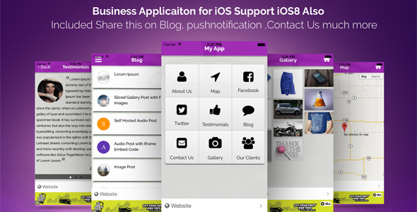 CodeCanyon Wordpress iOS App 10238289