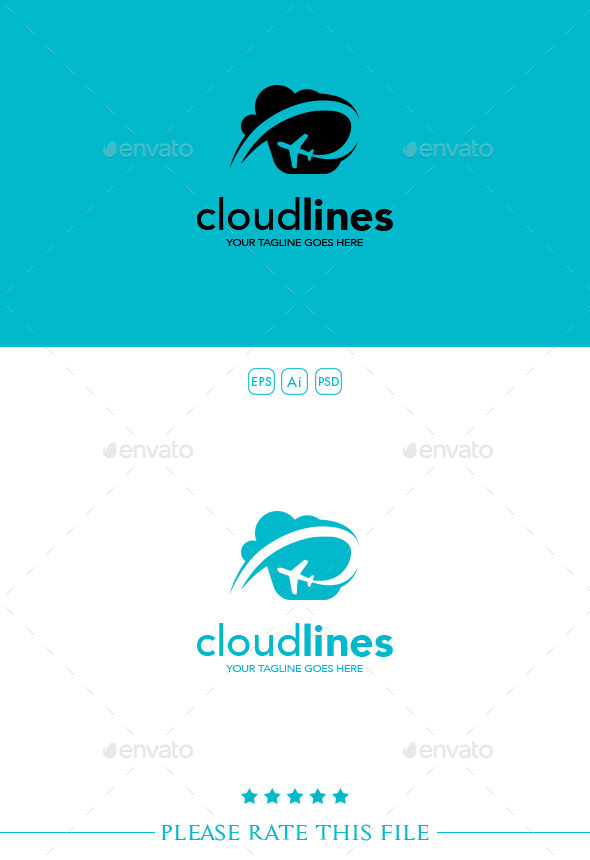 GraphicRiver Airlines Logo 10239809