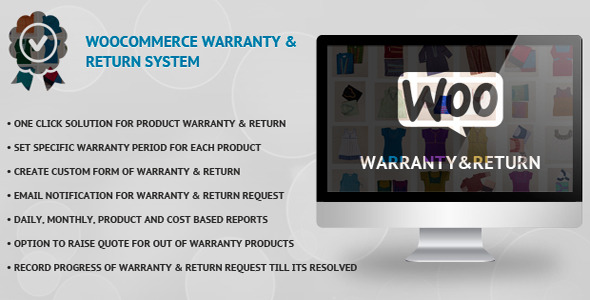 CodeCanyon WooCommerce Warranty & Return System 10239823