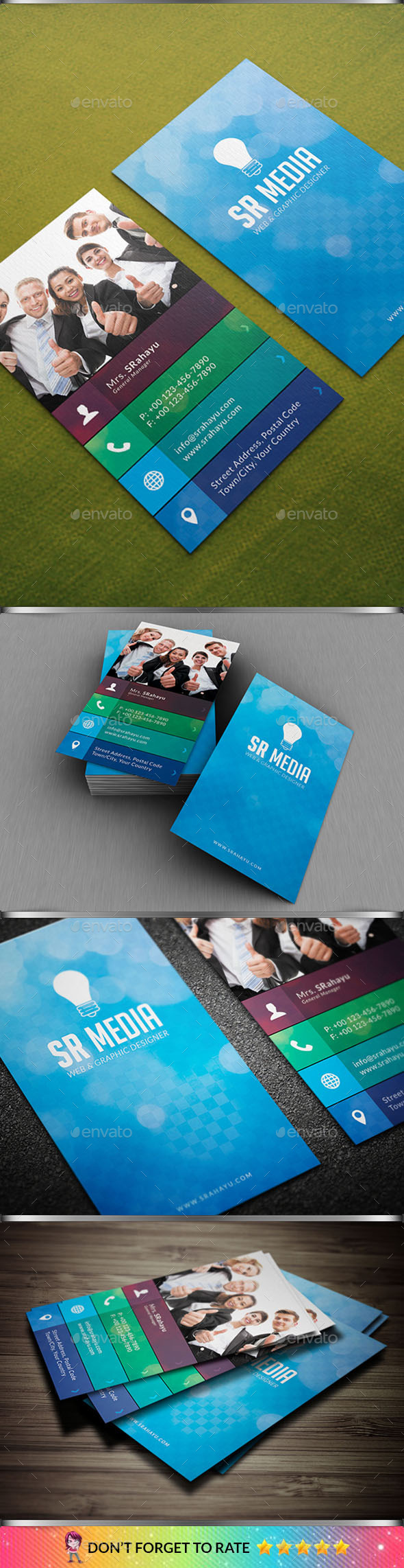 GraphicRiver Corporate Business Card Vol 02 10185988